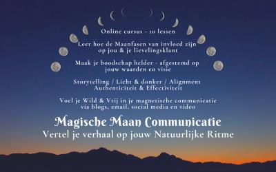 Magische Maan Communicatie Online Course