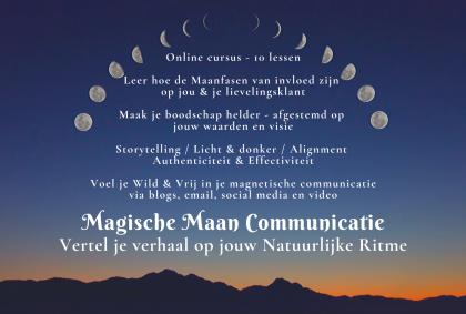 Magische Maan Communicatie