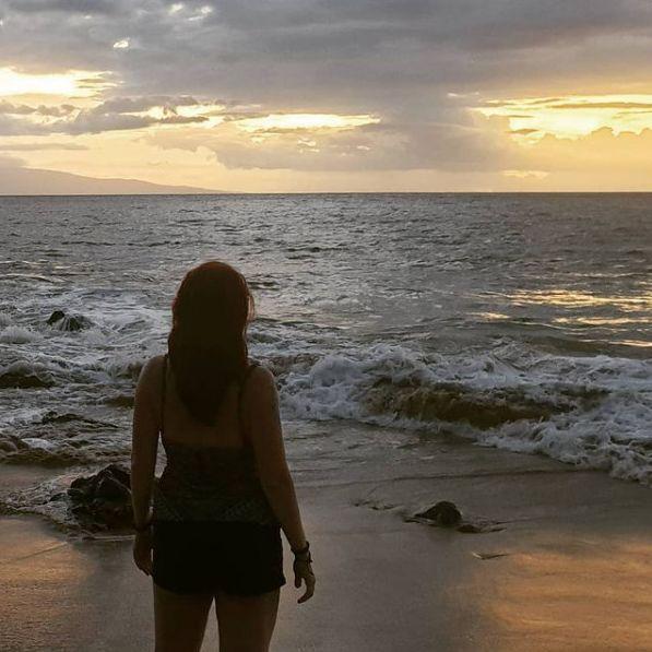 Wild Entrepreneur Woman Business Sunset Hawaii Maui Beyond Fear Selflove